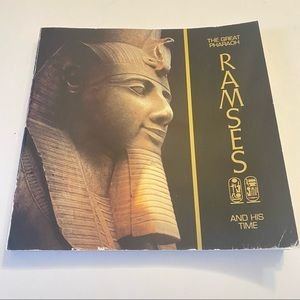 The Great Pharaoh Ramses and his Time trade paperback 1985